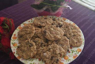 Cookies mit Haferflocken