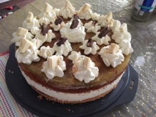 Maracuja – Joghurt Torte sehr lecker